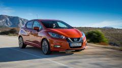 Nissan Micra 2017:Visia + (13.800 e),Acenta (14.800 e), NConnecta (16.700 e) e Tekna (17.700 e)