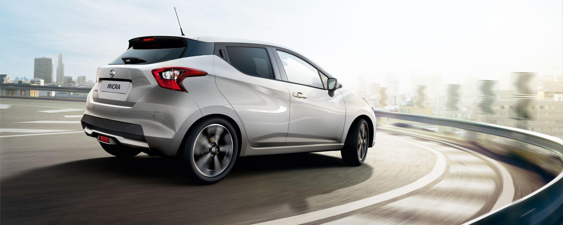 Nissan Micra 2021: ora anche a GPL