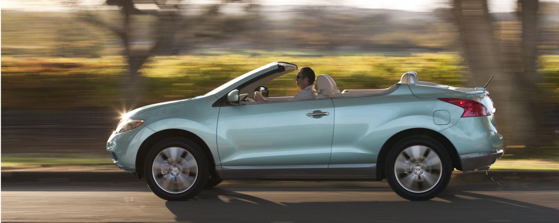 Nissan Murano Crosscabriolet, le nuove foto