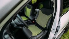 Nissan Navara EnGuard, gli interni