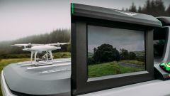 Nissan Navara EnGuard: ha anche i droni