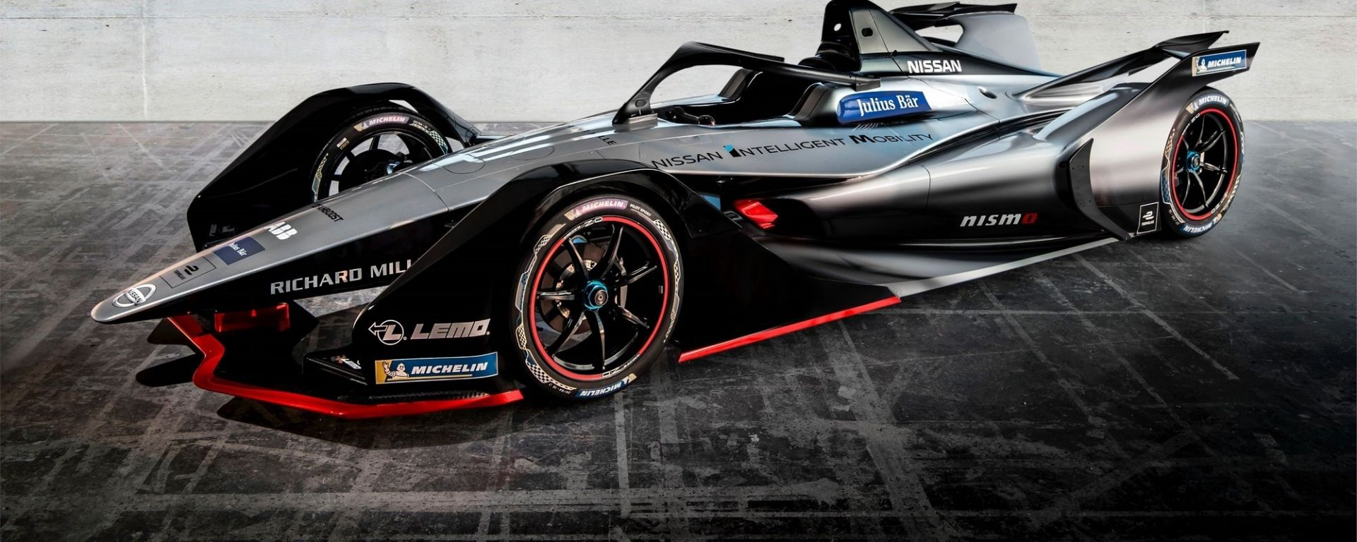 Nissan presenta la livrea di Formula E a Ginevra 2018