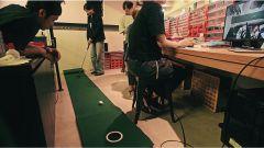 Nissan ProPilot golf ball: il collaudo del prototipo