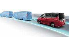 Nissan ProPILOT: il funzionamento della guida autonoma a bordo della nuova Serena