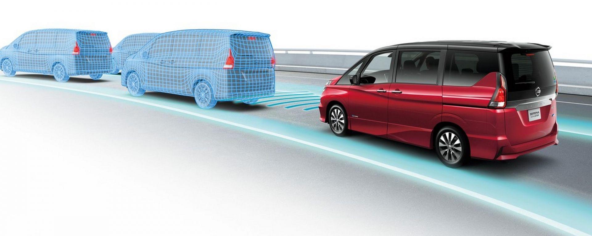 Nissan ProPILOT: il sistema di guida autonoma debutterà a bordo della nuova Serena