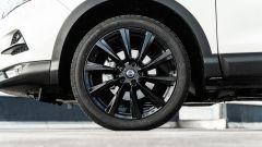 Nissan Qashqai 1.3 DIG-T N-Tec Start: i cerchi in lega leggera neri da 19