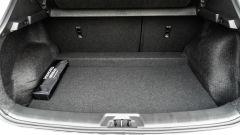 Nissan Qashqai 1.3 DIG-T N-Tec Start: il vano di carico e gli schienali reclinabili 60:40