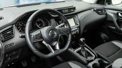 Nissan Qashqai 1.3 DIG-T N-Tec Start: l'abitacolo funzionale e spazioso per 4 persone