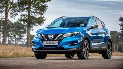 Nissan Qashqai 2017: il frontale si ispira a quello della Micra