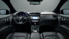 Nissan Qashqai 2017: più rifinito e accessoriato ha il nuovo volante con la base tagliata