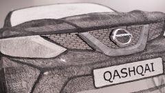 Nissan Qashqai 3D: ci sono voluti 13,8 km di inchiostro 3D per farla