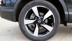 Nissan Qashqai: i cerchi da 18 pollici non influiscono negativamente sul comfort di marcia