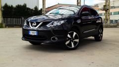 Nissan Qashqai: il frontale