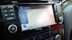 Nissan Qashqai: il monitor touch del sistema di infotainment
