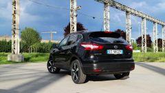 Nissan Qashqai: il posteriore