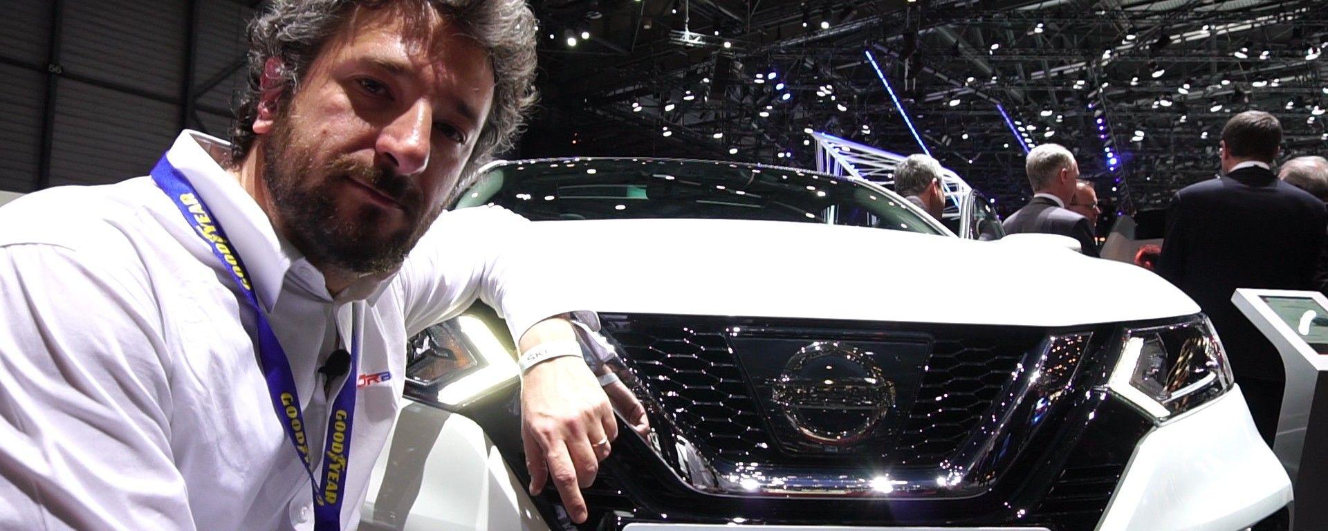Nissan Qashqai: in video dal Salone di Ginevra 2017