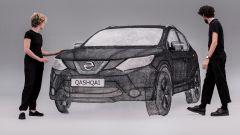 Nissan Qashqai: c'è chi l'ha fatta con la penna 3D (video) - Immagine: 1