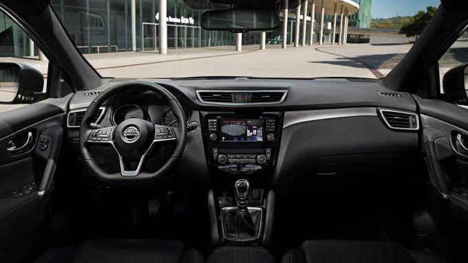 Nissan Qashqai visto da dentro