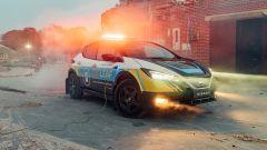 Nissan Re-Leaf: auto di soccorso elettrica
