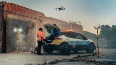 Nissan Re-Leaf: sul luogo di un incidente