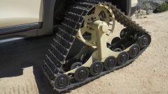 Nissan Rogue Trail Warrior: dettaglio del cingolo