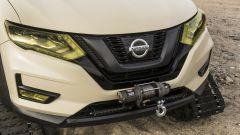 Nissan Rogue Trail Warrior: dettaglio del frontale
