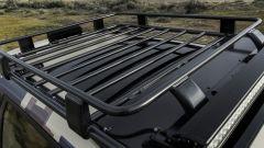 Nissan Rogue Trail Warrior: dettaglio del portapacchi