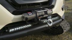 Nissan Rogue Trail Warrior: dettaglio del verricello