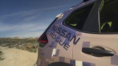Nissan Rogue Trail Warrior: dettaglio della livrea ispirata alle tute mimetiche