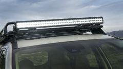 Nissan Rogue Trail Warrior: dettaglio dell'illuminazione supplementare a led