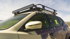 Nissan Rogue Trail Warrior: dettaglio dello specchio retrovisore