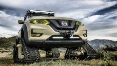 Nissan Rogue Trail Warrior: notevole l'altezza da terra
