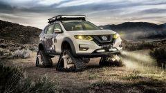 Nissan Rogue Trail Warrior: vista 3/4 anteriore