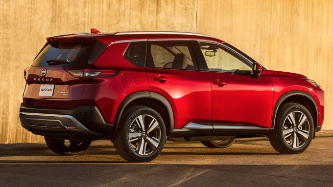 Nissan Rogue, versione USA di X-Trail