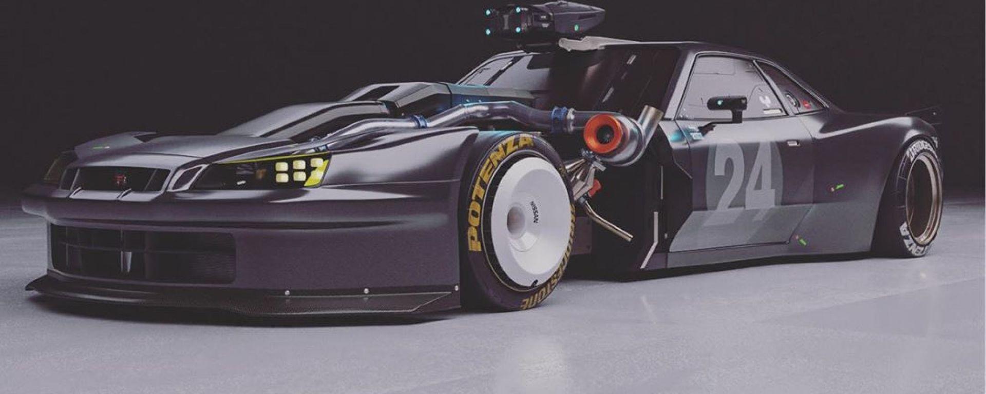 Nissan Skyline GT-R: il renderign più azzardato