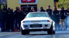 Nissan Skyline GT-R Metro (R32): il frontale