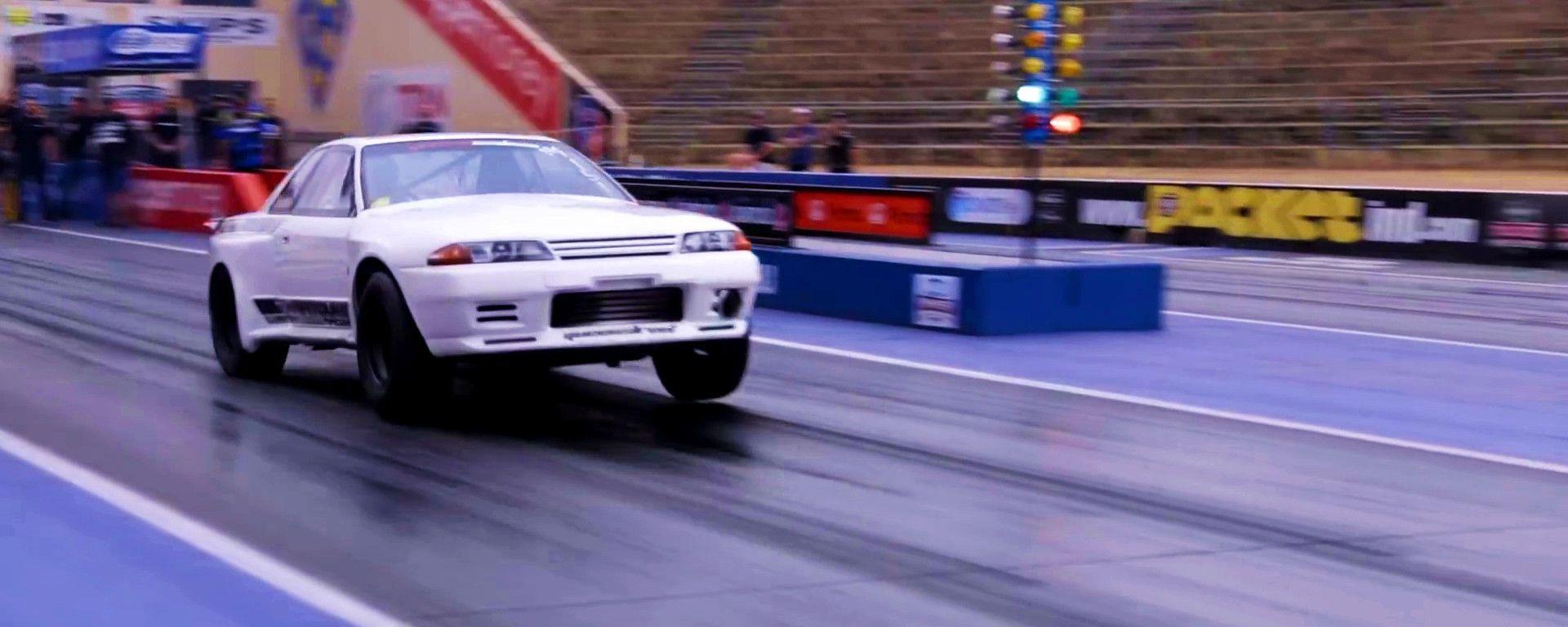 Nissan Skyline GT-R Metro (R32): suo il record sul quarto di miglio