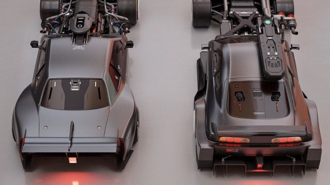 Nissan Skyline GT-R: un rendering dell'ultima pazza idea sulla muscle car giapponese