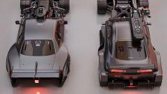 Nissan Skyline GT-R: vista da dietro