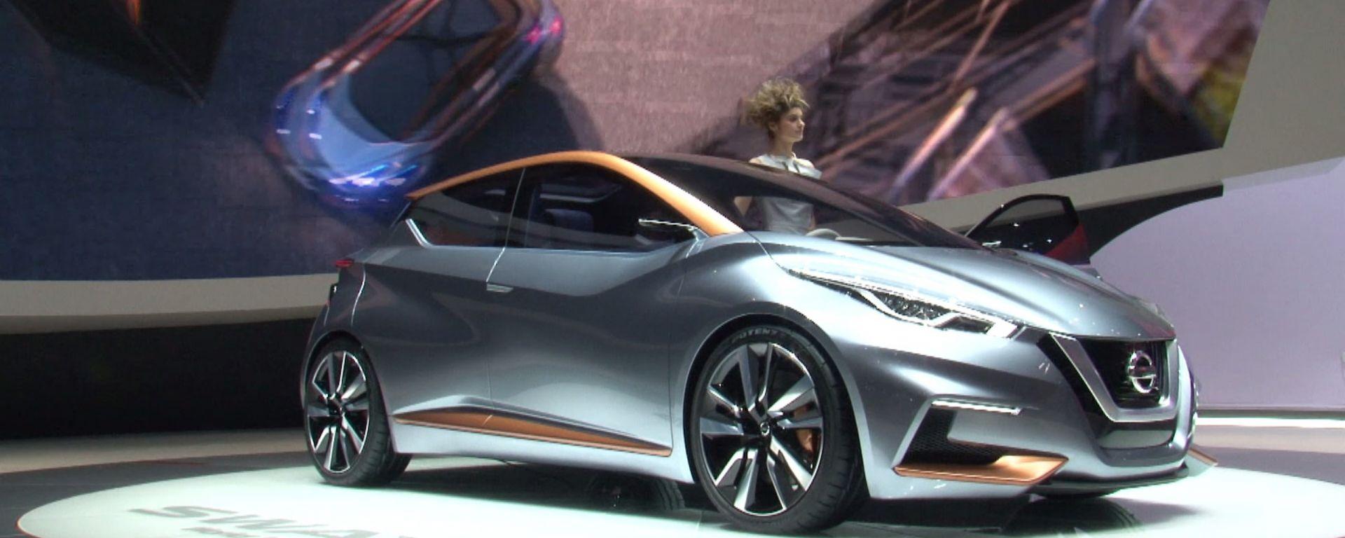 Nissan Sway: il video dallo stand