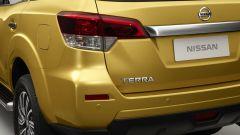 Nissan Terra: dettaglio del fanale posteriore
