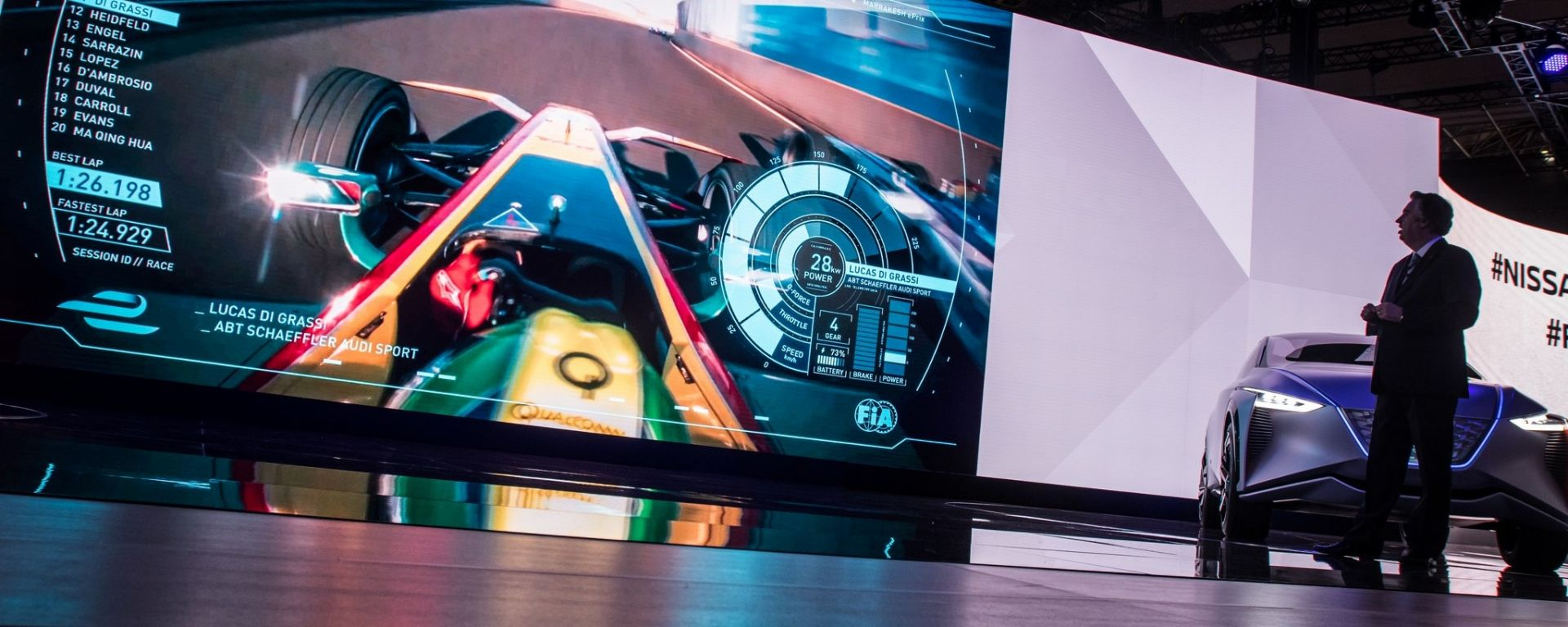 Nissan Tokyo Motorshow - anche Nissan parteciperà alla Formula E 2018