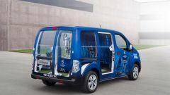 Nissan: una e-NV200 per scortare il trofeo della Champions League - Immagine: 4