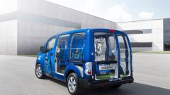 Nissan: una e-NV200 per scortare il trofeo della Champions League - Immagine: 6