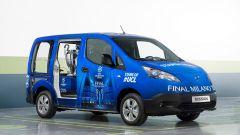 Nissan: una e-NV200 per scortare il trofeo della Champions League - Immagine: 9