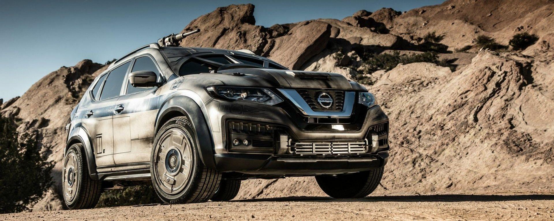 Nissan: la one-off della Rogue che si ispira al Millennium Falcon