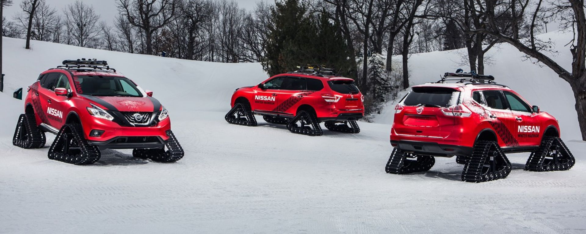 Nissan Winter Warriors