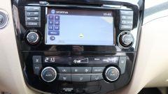 Nissan X-Trail 1.6 DCI 2WD, lo schermo dell'infotainment