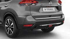 Nissan X-Trail Salomon: le cromature al posteriore