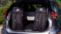 Nissan X-Trail Salomon: le due borse Salomon nell'allestimento